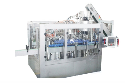 Glass bottle rinsing filling capping machine for alcohol drinks